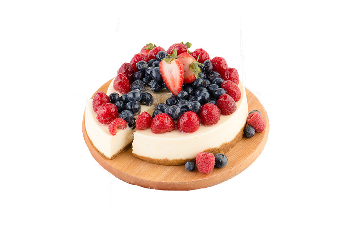 Fruit Topped Cheesecake