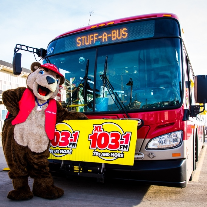 Calgary Food Bank – Stuff a Bus