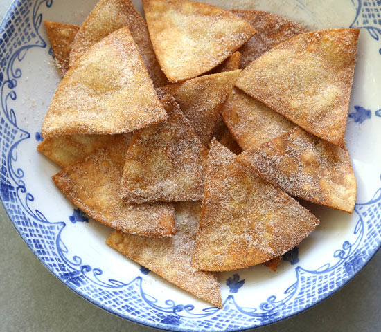 Cinnamon-sugar Tortillas