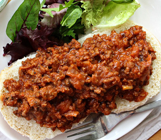 Italian-style Sloppy Joes with Red Lentils